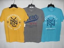 New Men's Aeropostale Graphic T-Shirts - 3 Colors - Sizes: XS-L - NWT $19.50