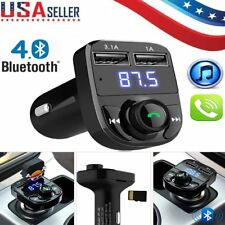 Wireless Bluetooth FM Transmitter Radio LCD Car Kit MP3 Player With Dual USB LOT