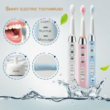 Seago Waterproof Adult Battery Powered Electric Toothbrush 3 Cleaning Modes AB