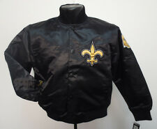 NEW ORLEANS SAINTS JACKET PRIME SATIN YOUTH NFL FOOTBALL COAT KIDS NWT BREES