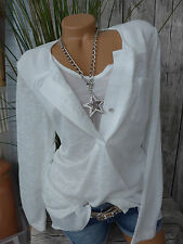 Heine Knitted Jumper and Top Size 34 - 46 Cream White 2 Piece (142) NEW