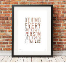 EMINEM ❤ Rap ❤ Hip Hop motivational typography poster art Print in 5 sizes #34