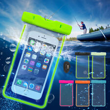 AU Waterproof Underwater Float Pouch Bag Case for Smartphone iPhone Galaxy Phone