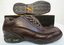 GBX FOOTWEAR DARK BROWN DRESS UP CASUAL CHURCH WORK MENS SHOES NEW IN BOX STYLSH