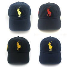 POLO RL Big Pony Baseball Cap Golf Soccer Hat With Horse No.3 Unisex Classic New