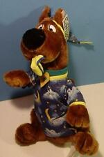Cute Cartoon Network Plush Scooby Doo in Pajamas Stuffed Animal EUC w Tags 12""