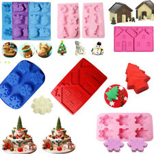 Cake Chocolate Cookie Muffin Candy Jelly Ice Bakeware Baking Silicone Mould Mold