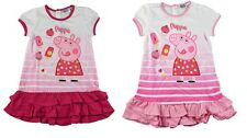 Sweet Peppa Wutz Dress From Cotton for Girls, Rosa & Pink Peppa Pig
