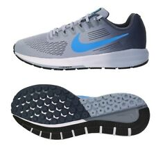 Nike Men Air Zoom Structure 21 Shoes Running Gray Blue Sneakers Shoe 904695-002