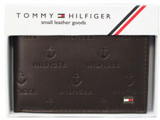 Tommy Hilfiger Brown Leather Men's Wallet 924 FREE SHIPPING