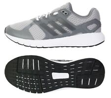 Adidas Men Duramo 8 Training Shoes Running Gray White Sneakers GYM Shoe BA8082