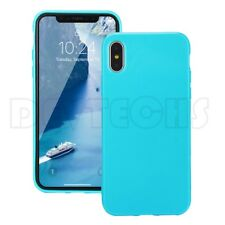 High Quality Silicone Case Slim Fit Lightweight For iPhone X 10 Back Cover Skin