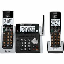 Att At&t(r) Attcl83213 Cordless Answering System With Dual Caller Id/call