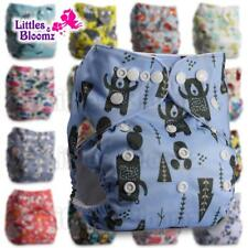 Washable Diaper Cloth Nappy Reusable Pocket Available 0-3 years 3-15kg One Size
