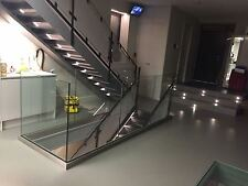 Glass balustrade, frameless / freestanding, indoor & outdoor