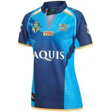 Gold Coast Titans NRL Ladies Home Jersey Shirt BNWT Rugby League Clothing