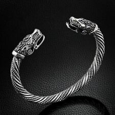Teen Wolf Head Bracelet Indian Jewellery Fashion Accessories Viking Bracelet Men