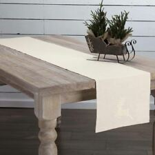 Creme Lace Deer Table Runner | SAVE EXTRA 5% OFF!