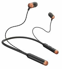 House of Marley EM-JE083-SB Wireless Earphones with Mic (Signature Black)