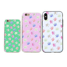 Colorful Lily Flower Case Cover for iPhone X (10) 7 8 Samsung Galaxy S8 Flowery