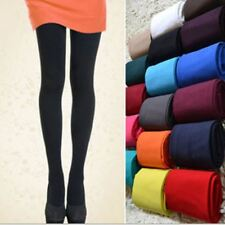 Women's Footed Thick Opaque Stockings Pantyhose Tights