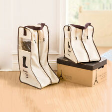 Portable Dust-proof Boot Shoes Bag Organizer Storage Protector Container Welcome