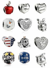 authentic Sterling Silver Charm bead Disney Charms beads Jewelry for bracelets