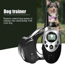 Rechargeable Waterproof Shock Vibra Remote Training Collar for Small Large Dog