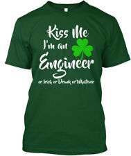 Kiss Me- Im An Engineer St Patricks Day - Me I'm Or Hanes Tagless Tee T-Shirt