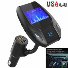 FM Transmitter Bluetooth Wireless Radio Adapter Dual USB Charger CAR Player LOT