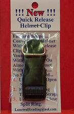 """""""New"""" Motorcycle  Quick Release Helmet Buckles Fits Up To 3/4"""" Strap-D -Style"""