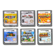 6PCS NDS MARIO Game Card Child Children Gift For DS DSI 3DS US Version