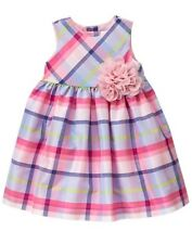 NWT Gymboree Family Brunch Plaid Dress Baby Toddler Girls Easter 0,3,6,12M