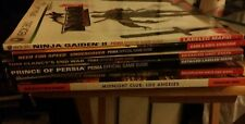 Video Game Strategy Guides Variety
