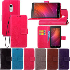 For Xiaomi Redmi 4A 4X Note 3 4 4X Magnetic Pattern Leather Flip Wallet Cover