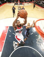 Trevor Booker of the Washington Wizards vs. Bobcats. Photos by Getty Images