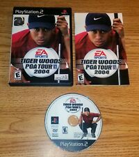 Tiger Woods PGA Tour 2004 (Sony PlayStation 2, 2003) ps2 cib complete