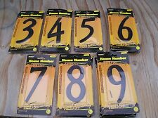 """House / Apartment Numbers - 4.2"""" Size - You Choose - Black"""
