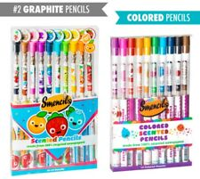 Smencils Gourmet Scented Pencils (10-pack) 100% recycled newspapers