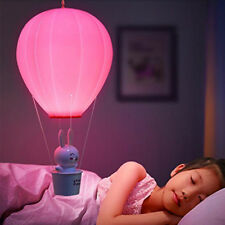 Creative LED Hot Air Balloon Night Light USB Rechargeable Remote Control 3 Modes