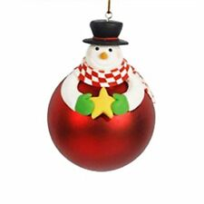 Christmas Tree Hanging Ball Bear Santa Claus Snowman Xmas Decor Ornament