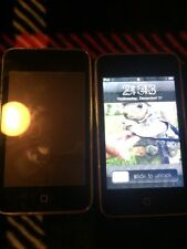Apple iPod Touch 2nd Generation 8GB - Lot Of 2