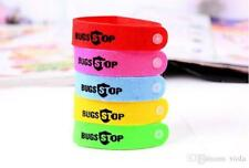 5x Anti Mosquito Repellent Bracelet Wristband Bands travel UK SELLER