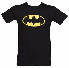 Official Men's Black Batman Logo DC Comics T-Shirt