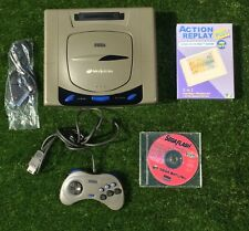 Sega Saturn Ntsc J Grey Action Replay Bundle