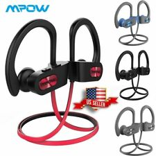 🎧 Mpow Flame Bluetooth Headphones Waterproof IPX7 Wireless Earbuds Sport  🎧