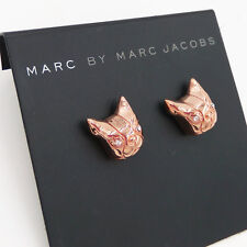 Marc By Marc Jacobs Fashion Dynamic Animal Stud Earrings bull dog ,rose gold #I1