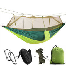 Outdoor Countyard Travel Camping Tent Hanging Hammock with Mosquito Insect Net