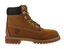 Kids Timberland 6 Inch Premium Waterproof Boot Wheat Nubuck 12909