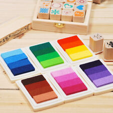 New 2018 Child Craft Oil  Gradient Color Based Diy Ink Pad Rubber Stamps Paper